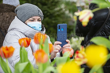 RUSSIA-MOSCOW-FLOWER EXHIBITION