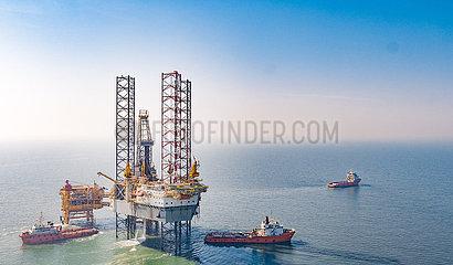CHINA-TIANJIN-BOHAI SEA-Öl- und Gasfeld-DISCOVERY (CN)