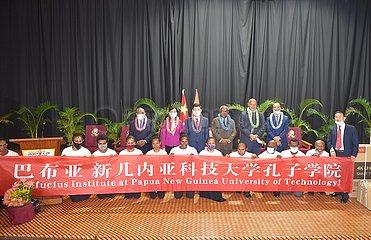 Papua-Neuguinea-LAE-Konfuzius-Institut-EINWEIHUNG