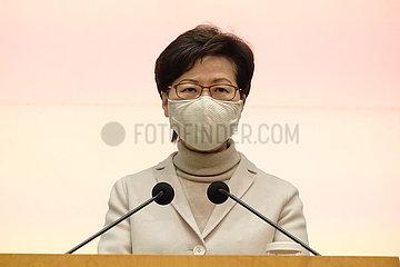 CHINA-Hongkong CARO LAM-COVID-19-IMPFUNG-PRESS (CN)