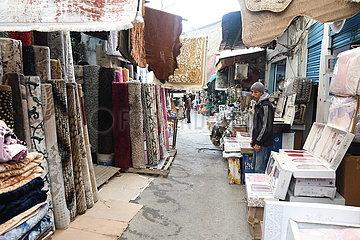TUNISIA-TUNIS-COVID-19-DAILY LIFE