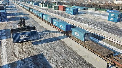 CHINA-JILIN-CHANGCHUN-EUROPE-FREIGHT TRAIN SERVICE (CN)