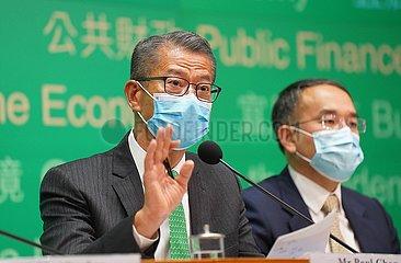 CHINA-HONG KONG-ECONOMY-ANNUAL BUDGET (CN)