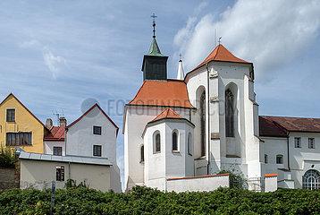 Jindrichuv Hradec  Tschechische Republik - Kirche des Heiligen Johannes des Taeufers