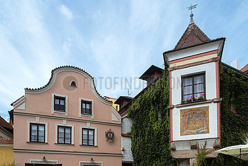 Jindrichuv Hradec  Tschechische Republik - Historische Bebauung in der Altstadt