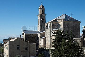 Genua  Italien - Die Kirche Santuario della Madonnetta in Genua-Castelletto