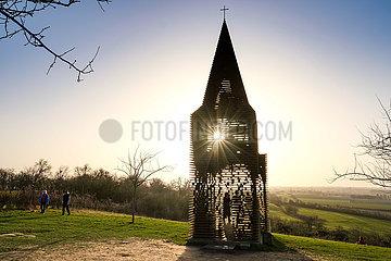BELGIUM-BORGLOON-SEE-THROUGH CHURCH