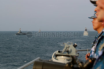 CHINA-SINGAPORE-JOINT NAVAL DRILL
