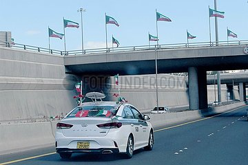 KUWAIT-KUWAIT CITY-NATIONALTAG-FEIER