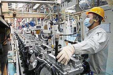 CHINA-HEILONGJIANG-HARBIN-ENGINE-MANUFACTURE (CN) CHINA-HEILONGJIANG-HARBIN-ENGINE-MANUFACTURE (CN) CHINA-HEILONGJIANG-HARBIN-ENGINE-MANUFACTURE (CN)
