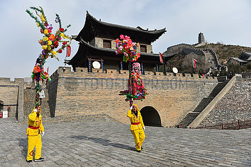 CHINA-SHANXI-DAIXIAN COUNTY-NAOGE PERFORMANCE (CN)