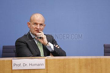 Bundespressekonferenz zum Thema: Die Lage bei den vom Lockdown betroffenen Haendlern