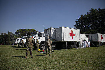 Argentina-BUENOS AIRES-CHINESE FIELD HOSPITAL