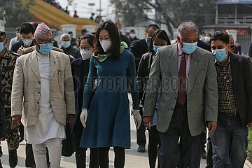 NEPAL-KATHMANDU-CHINESE EMBASSY-STATIONERY-GIFTS