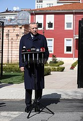 TURKEY-ISTANBUL-PRESIDENT-ARMENIA