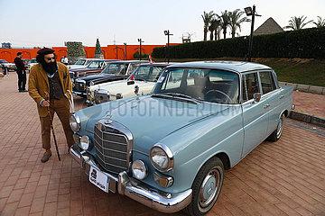 EGYPT-CAIRO-CLASSIC CARS SHOW