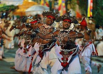 SRI LANKA-COLOMBO-NAVAM PERAHERA