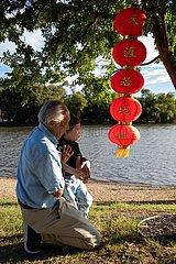 AUSTRALIEN-CANBERRA-Laternen-Festival