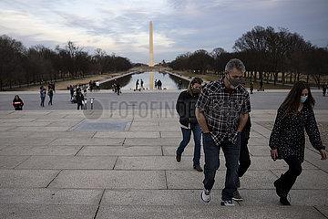 U.S.-WASHINGTON-DAILY LIFE