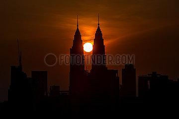 MALAYSIA-KUALA LUMPUR-SUNRISE
