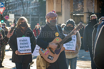 Demo gegen sämtliche Corona Maßnahmen