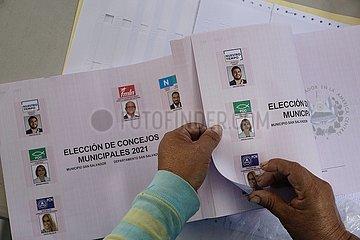 EL SALVADOR-SAN SALVADOR-ELECTIONS