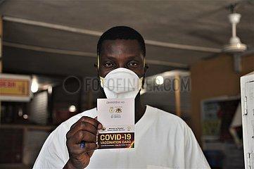 GHANA-ACCRA-COVID-19-MASS VACCINATION