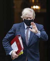 BRITAIN-LONDON-UK GOVERNMENT-BUDGET 2021