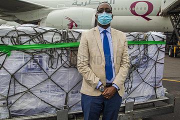 Rwanda-KIGALI-COVAX-impfstoff ANREISE