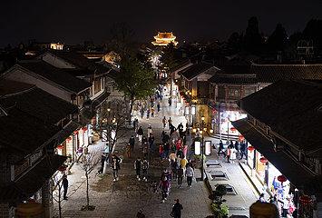 CHINA-YUNNAN-DALI-NACHTSICHT (CN) CHINA-YUNNAN-DALI-NACHTSICHT (CN) CHINA-YUNNAN-DALI-NIGHT VIEW (CN)