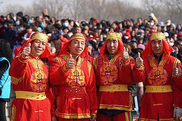 CHINA-SHANXI-TAIYUN-TRADITIONAL DANCE-VILLAGE GALA (CN)