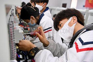 CHINA-FUJIAN-FUZHOU-TECHNICAL SCHOOL-STUDENTS (CN)