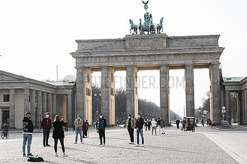 DEUTSCHLAND-BERLIN-COVID-19-SPERRE-EXTENSION