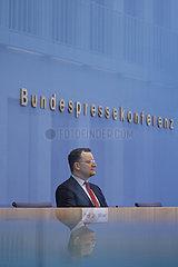 Bundespressekonferenz zum Thema: Impfen gegen Corona