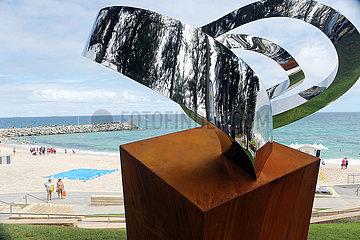 AUSTRALIA-PERTH-BEACH-SCULPTURE EXHIBITION