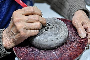 CHINA-SHANXI-COLORED GLAZE FIRING SKILL (CN)