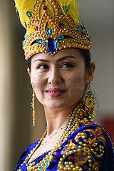CHINA-XINJIANG-KASHGAR-DANCE TROUPE-TEACHER