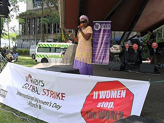 FIJI-SUVA-INTERNATIONAL WOMEN'S DAY-KONZERT