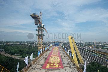 INDONESIEN-JAKARTA-BANDUNG High Speed ??Railway-DER GRÖßTE SPAN kontinuierlichen Strahl-ZU