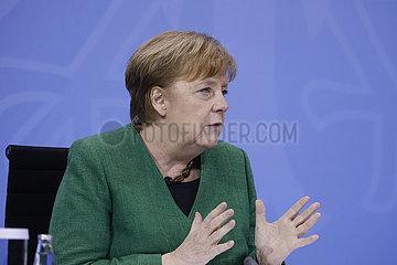 Pressekonferenz zum Thema 13. Integrationsgipfel   Bundeskanzleramt  9. Maerz 2021