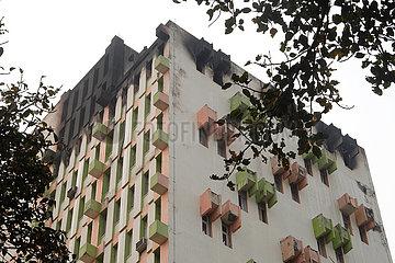 INDIEN-KOLKATA-BUILDING-FIRE