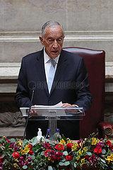 PORTUGAL-LISBON-PRESIDENT-INAUGURATION-2ND TERM