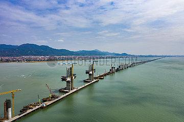 #CHINA-FUJIAN-CROSS-SEA BRIDGE-CONSTRUCTION (CN)