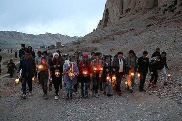 AFGHANISTAN-Bamiyan-BUDDHA-DESTRUCTION-JAHRESTAG