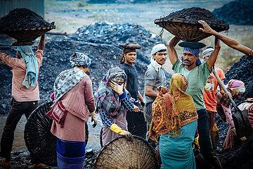Die Kohleminen von Meghalaya