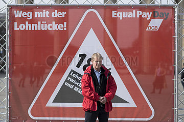 Reiner Hoffmann  Equal Pay Day
