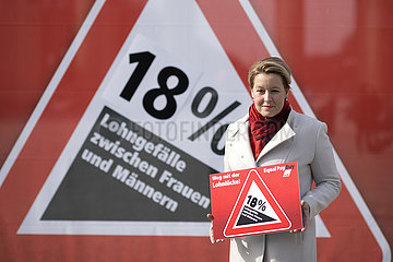 Franziska Giffey  Equal Pay Day
