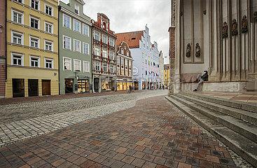 Landshut  Mann allein  11.03.2021