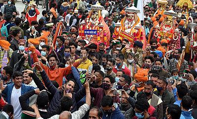 INDIEN-MANDI-Shivaratri FESTIVAL