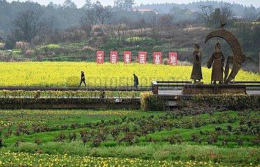 CHINA-JIANGXI-ANYI-Land-Tourismus (CN)